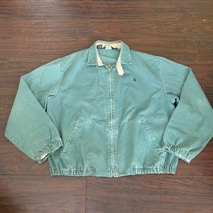 VTG Polo Ralph Lauren Harrington Zip Bomber Jacket